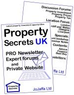 Property Secrets Pro, Newsletter and Private website - Where's the smart investment money going?